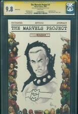 MARVELS PROJECT #1 CGC SS 9.8 NM/MT Original Art MIRACLEMAN Mike McKone Sketch