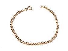 Bijou plaqué Or 18 carats bracelet maille gourmette  bangle