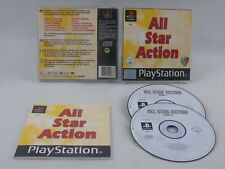 All Star Action PS1 PlayStation 1 Complete PAL