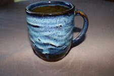 Handmade, Wheel Thrown Pottery. Hand Glazed Coffee Cup