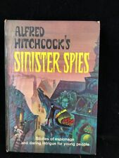 1966 Alfred Hitchcock's SINISTER SPIES Random House HC Anthology