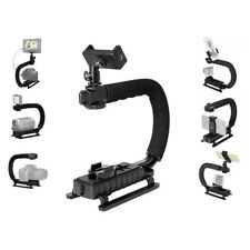 GoPro C Shape Handheld Camera Stabilizer + Holder + Hot Shoe + Tripod Adapter