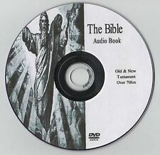 The Holy Bible Audio Book on MP3 DVD Over 70 hours