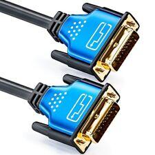 3m DVI Kabel - DVI-D High Speed / 3D / Full HD / 1080p - deleyCON PREMIUM