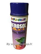 Aérosol de peinture Teinte Couleur Bleu Marine RAL 5002 Spray 400 ml