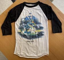 (Vintage) Rare 1982 Asia Tour Authentic Concert T Shirt Raglan Size M