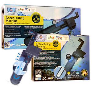 Fish R Fun UV Sterilizers 3W / 9W / 24W Internal Aquarium Clarifier & Bulbs Tank