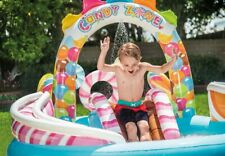 Genuine Intex Inflatable Candy Zone Slide Pool Toy Activity Centre 57149