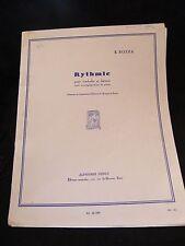 Partition Rythmic pour timbales et batterie E Bozza Music Sheet