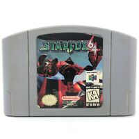 STARFOX 64 (Nintendo 64, 1998) Authentic N64 Tested Cartridge Cleaned Contacts