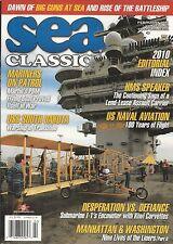 Sea Classics magazine Mariners on patrol USS South Dakota US Naval aviation