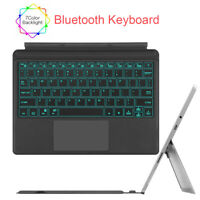 For Microsoft Surface Go 10 Inch Type Cover Backlit Bluetooth Keyboard +Trackpad