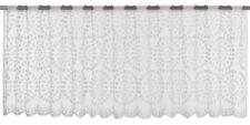 Half Curtain Window Drape transparent Circolo graphic white 198411
