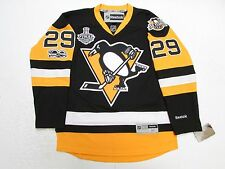MARC ANDRE FLEURY PITTSBURGH PENGUINS HOME 2017 STANLEY CUP FINAL REEBOK JERSEY