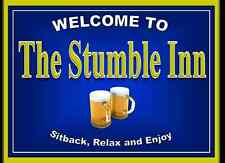 Personalised Pub sign, Home Bar, homebrew, Funny drinking sign Free P&P