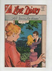 LOVE DIARY #50 Fine+, Ernesto R. Garcia cover, Vince Colletta art, Charlton '67