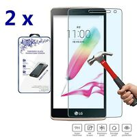 2x For LG  G4 Stylus Premium HD Tempered Glass Screen Protector Film