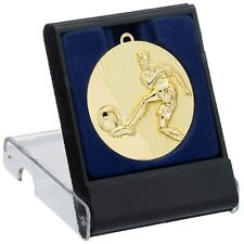 Football 50mm Medals Sport Team Club School FREE Engraving, Box & UK pp G505/6/7