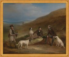 Edward Horner reynard and his brother George Grouse ferneley chasse B a2 02632