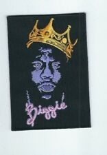 NOTORIOUS B.I.G. BIGGIE SMALLS EMBROIDERED PATCH !