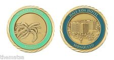 "HALE KOA HOTEL HONOLULU HAWAII 1.75"" CHALLENGE COIN"