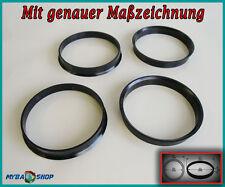 4x Zentrierringe 76,0 mm - 72,6 mm für BMW