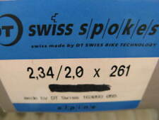 36 Speichen spokes DT Swiss  Alpine 2,34/2,0 silber 261 mm mit Nippel NEU