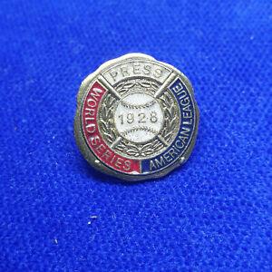 New York Yankees World Series Press Pin 1928
