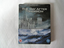The Day After Tomorrow Steelbook [Blu-ray] Brand New and Sealed