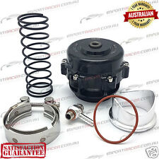 50MM V-BAND BLOW OFF VALVE BOV BLACK TiAL Style 1 Year Warranty