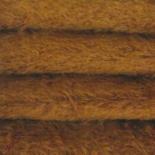 "1/4 yd 300S/C Bronze INTERCAL 1/2"" Ultra-Sparse Curly S-Finish Mohair Fur Fabric"