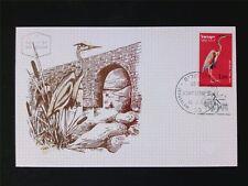ISRAEL MK 1963 BIRDS REIHER HERON VÖGEL MAXIMUMKARTE MAXIMUM CARD MC CM c5601