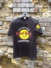 Hard Rock Cafe CHERNOBYL T-shirt. Black. Size M
