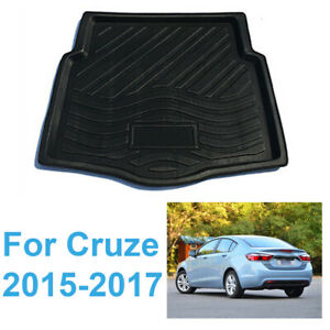 Car Rear Trunk Tray Boot Mat Floor For Chevrolet Cruze Sedan 2015 2016 2017