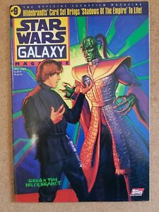 Magazine - Star Wars Galaxy + Poster USA Issue Contents Index Shown - Various