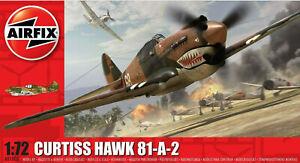 Airfix Curtiss Hawk 81-A-2 1:72 Scale Plastic Model Plane Kit A01003