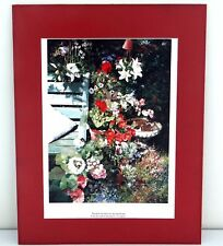 Loes Agoust Limited Edition Signed Print 'Normal Old Mess By The Bird Bath'