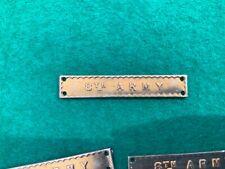 "WW2 ""8th Army"" clasp for africa star medal original"