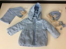 Mayoral Bundle Coat, Hat, Mittens, Scarf Vgc Age  12 Months / 1 Years Vgc
