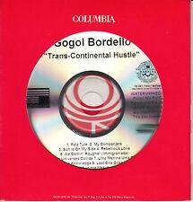 GOGOL BORDELLO Trans-Continental Hustle US 14-trk watermarked promo test CD