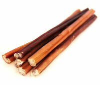 "12"" Beef Bully Sticks 5 Pk Pizzle Natural Dog Chews USDA & FDA Approved"
