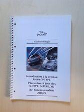 Guide Technique Jaguar Estate X-Type