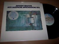 VG++ 1976 Anthony Braxton Alto Saxophone Improvisations 1979 2 LP Albums