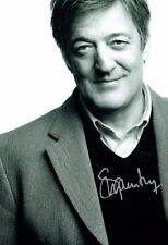 Stephen FRY SIGNED Autograph 12x8 Photo 1 AFTAL COA British Comedy Legend