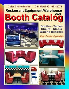 Booth Catalog,  Booths, Tables, Chairs and Stools  - PDF Document