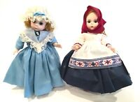 Madame Alexander International Doll Series Lot United States #559 & Russia #574