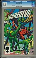 Daredevil #207 CGC 9.8 White Pages Hydra