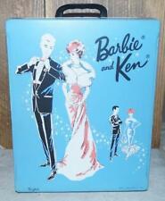 Vintage 1963 Barbie & Ken Mattel Case Baby Blue