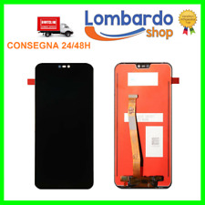 DISPLAY LCD HUAWEI P20 LITE ANE-LX1 TOUCH SCREEN SCHERMO MONITOR VETRO NERO