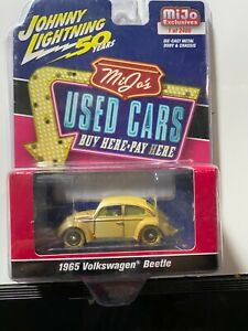 1/64 JOHNNY WHITE LIGHTNING MIJO EXCLUSIVES USED CARS 1965 VOLKSWAGEN BUG CHASE